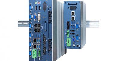 Die Hutschienen-Serie von EFCO wird gerne als Bildverarbeitungsrechner in Industrieanlagen eingesetzt. Über die PoE-Schnittstellen versorgt der Rechner die Kameras mit Energie. Umso dramatischer ist dann ein Ausfall der Versorgungsspannung. Die neue DC-USV von EFCO verhindert dies. Bildquelle: EFCO Electronics