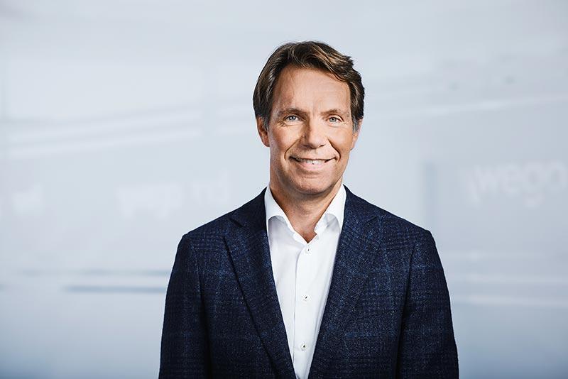 Ronald Hoozemans, Vorsitzender der Geschäftsführung bei Wego/Vti. Foto: Wego/Vti
