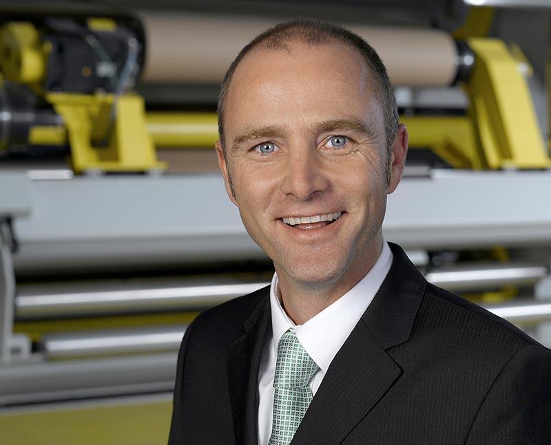 Frederik Schaefer, Segmentleiter flexible films und Geschäftsführer der CaPlast GmbH